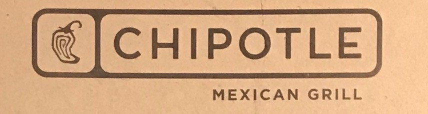 Chipotle Menu Chicago Michigan Ave (Scanned Menu With Prices)