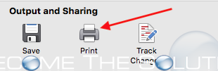 Mac microsoft word sharing print options