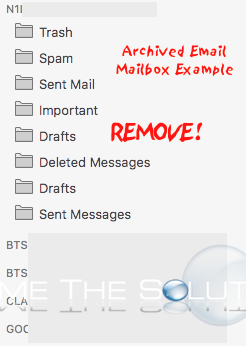 Remove: Mac Mail Remove Archive Mailbox Folder (And Other Folders)