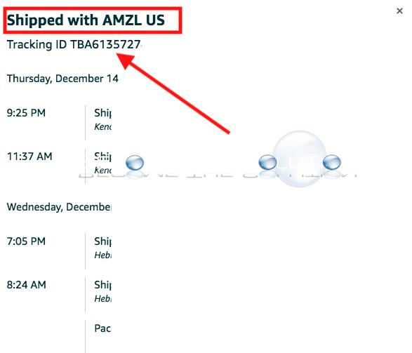 Amazon shipped with amzl us