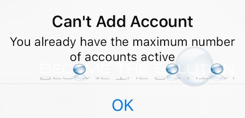 Fix: Instagram You Already Have the Maximum Number of Accounts Active (Can't Add Account)