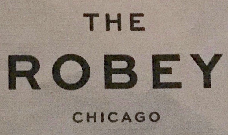The Robey Chicago - The Lounge Menu (2nd Floor) (Scanned Menu With Prices)
