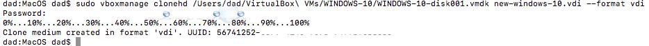 Virtual box convert vmdk to vdi image