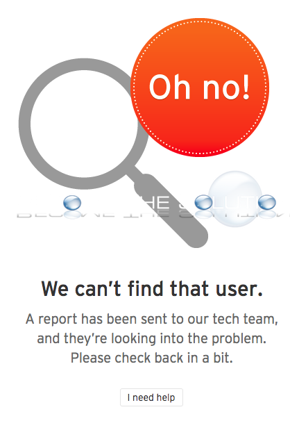 Why: We Can't Find That User – SoundCloud