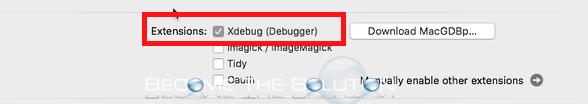 Mamp pro xdebug php option