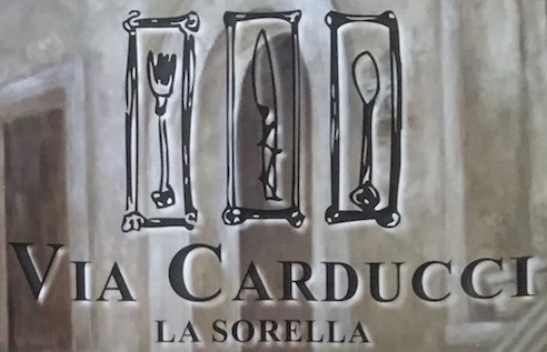 Via Carducci Menu Chicago (Scanned Menu With Prices)
