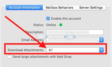 Mac mail download attachments all