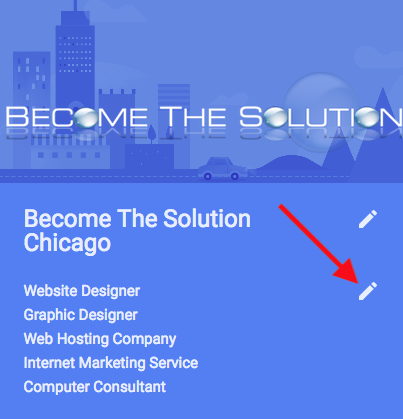Fix google business card not showing in google search results google business listing categories reheart Choice Image