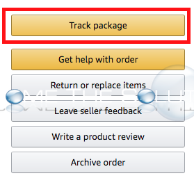 Amazon tracking infromation orders