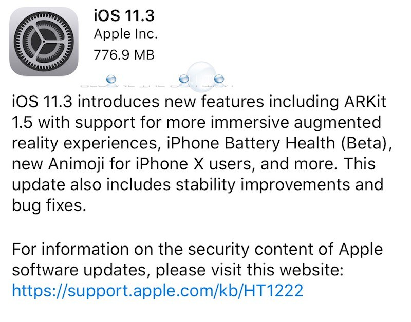 iOS 11.3 New Features