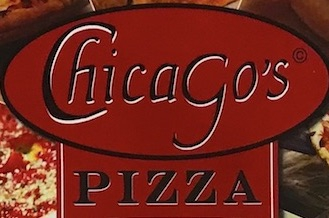 Chicago's Pizza Menu (Scanned Menu With Prices)