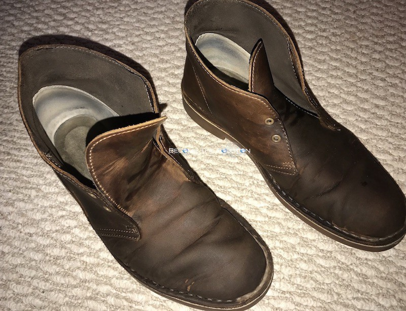 Clarks boots conditioner lotion leather cleaning
