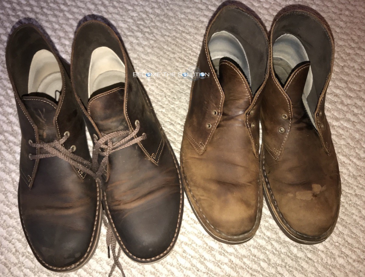 Correct Way to Clean Clark's Boots (Desert / Chukka / Leather)