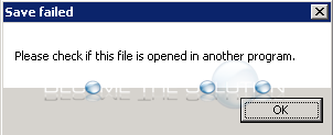 Fix: Please Check If This File Is Opened in Another Program Notepad++
