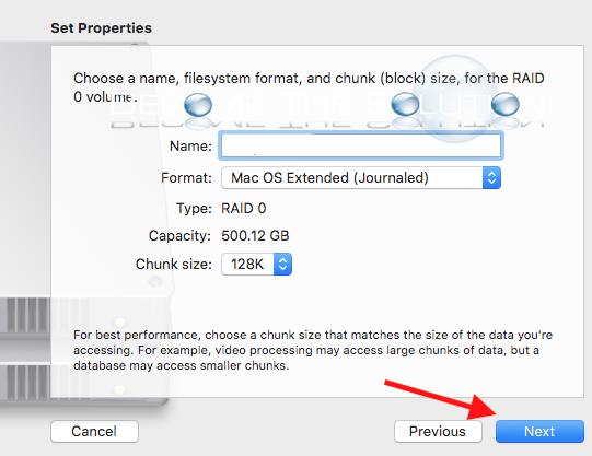 Mac disk utility raid chunk size
