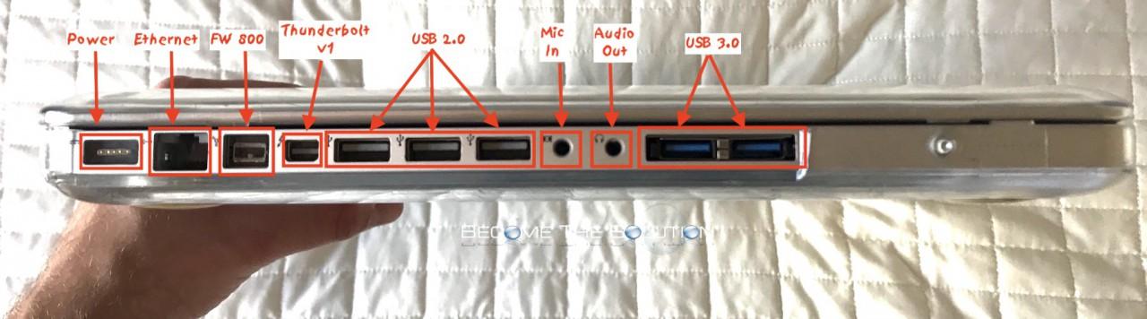 Macbook pro 17 usb 3.0