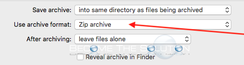 Archive utility mac format zip archive