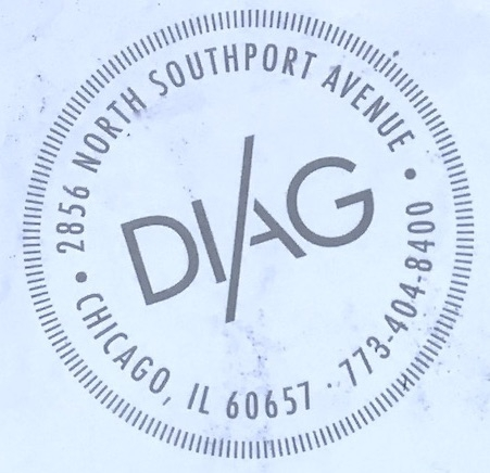 Diag Chicago Menu (Scanned Menu With Prices)