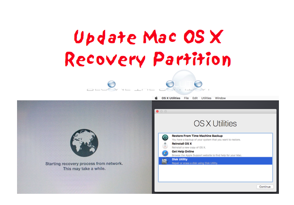 Easy: Update Mac Recovery Partition (Command ⌘ + R) to Mac High Sierra 10.13