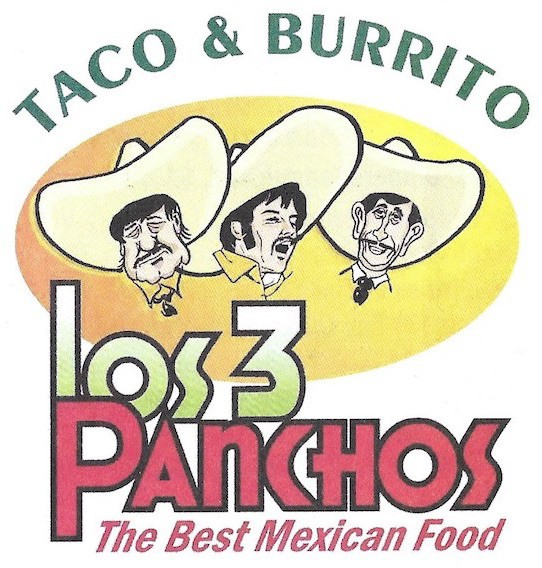 Los 3 Panchos Chicago Menu (Scanned Menu With Prices)