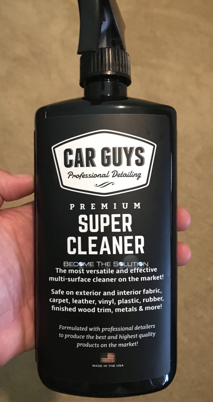 Car guys all purpose cleaner bottle front