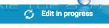 Youtube edit in progress message