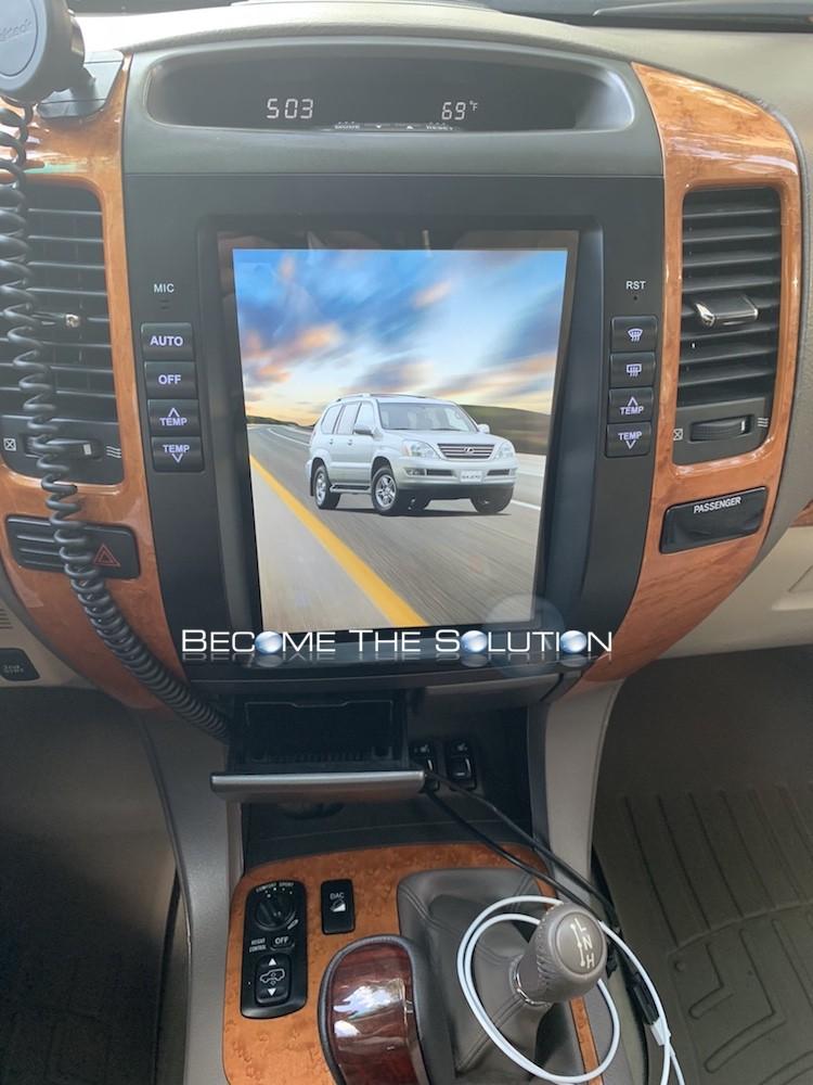 Lexus gx 470 phoenix android radio 2