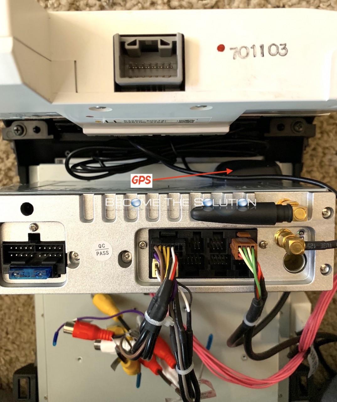 Phoenix android radio lexus gx 470 back connections 2