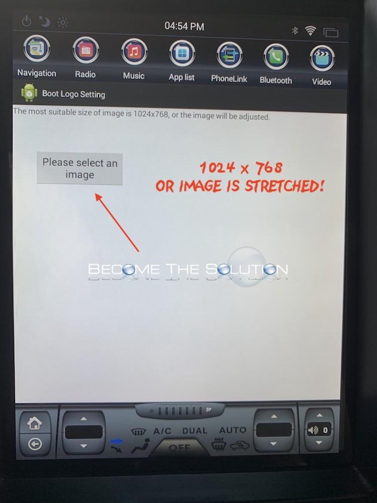 Phoenix android radio change boot logo