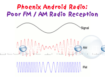 Phoenix Android Radio – Poor FM/AM Reception?