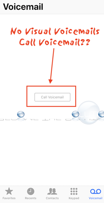 Fix: iPhone Calls Voicemail No Visual Voicemail