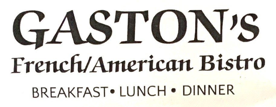 Gaston's Orland Park Menu (Scanned Menu With Prices)