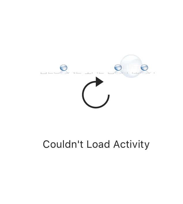 Why: Instagram – Couldn't Load Activity