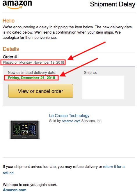 how to choose amazon delivery