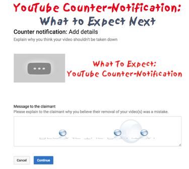 YouTube: What to Expect After You Submit a Counter-Notification