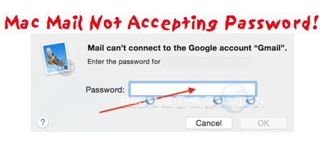 Fix: Mac Mail Not Accepting Password