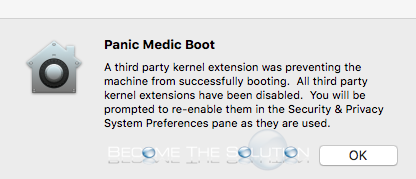 Panic Medic Boot Apple Mac – What to Do?