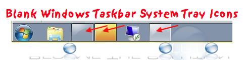 Fix: Blank Windows Taskbar Icons