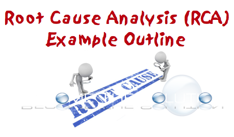 Issue Root Cause Analysis Form RCA