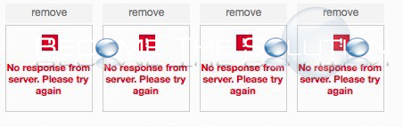 Fix: Ebay - No response from server. Please try again.