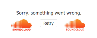Sorry, something went wrong – SoundCloud
