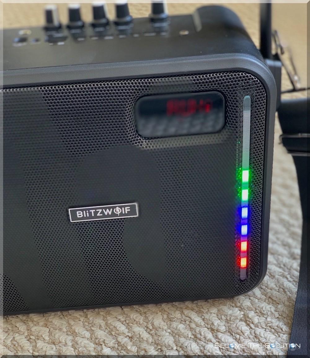 Blitzwolf karaoke speaker