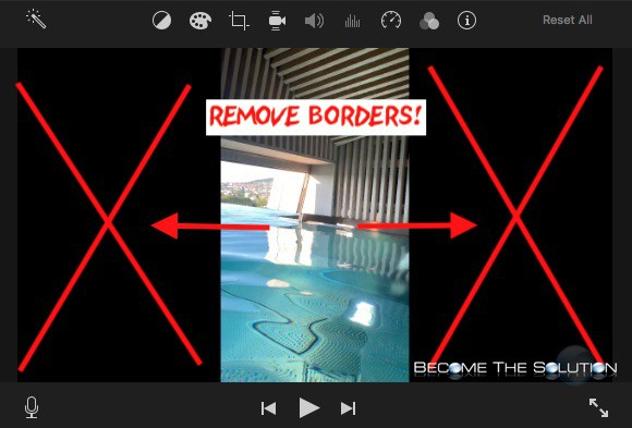 Easy: Remove Black Bars from Videos in iMovie 10.1