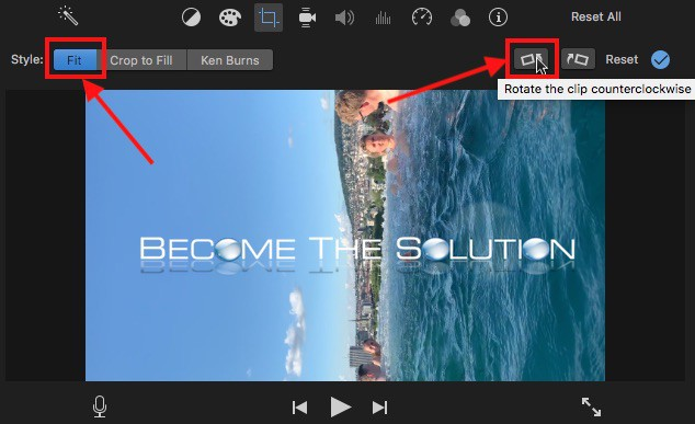 Imovie rotate clip counterclockwise