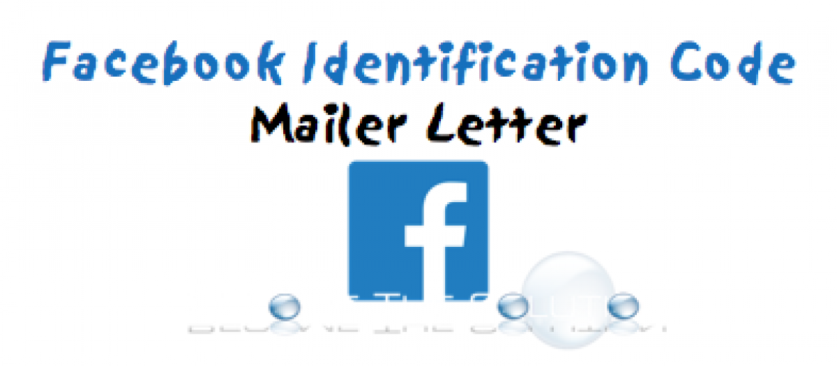 Facebook Identity Confirmation – Mail Code Identification