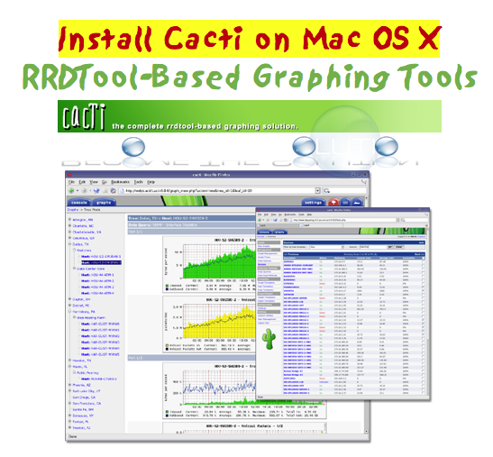 Install Cacti on Mac OS X Latest