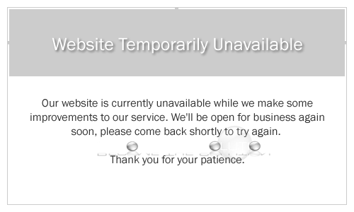 Amazon Seller / Associates: Website Temporarily Unavailable