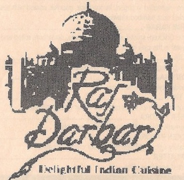 Raj Darbar Chicago Menu