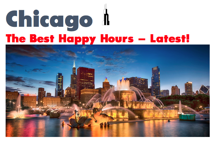 Chicago: Best Happy Hours in the Loop (Downtown Chicago)
