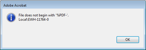 File does not begin with '%PDF-'.